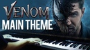 Venom Main Theme - Venom OST (Piano Cover)SHEETSMIDI