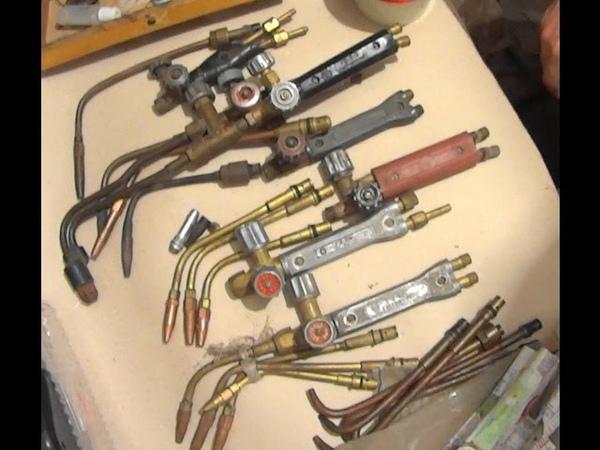 обзор горелок для газосварки Overview of gas welding torches