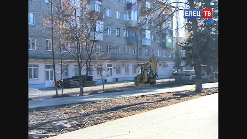 Благоустройство скверов Харченко и мкр. Александровском завершат в ноябре