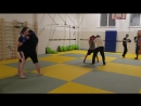 Тренировка по тайскому боксу в новом зале-М.Тореза,103