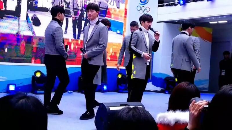 [FANCAM] 10.02.2018: BTOB - Missing You @ Gangneung Olympics Park Korea House BTOB Mini Concert