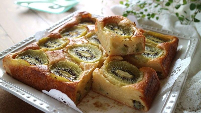 Kiwi Yogurt Cake甘酸っぱくて爽やか~冷やしても美味しいキウイヨーグルトケー12461