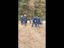 Heute gingen die Räumungen Hambacher Forst im Regen offiziell weiter