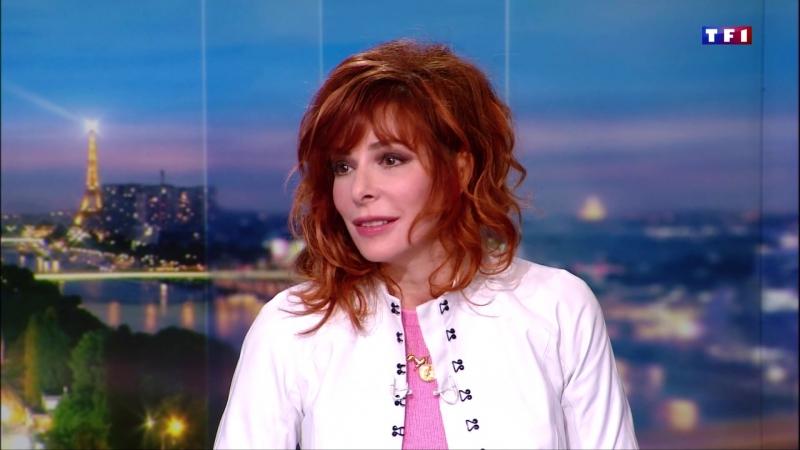 Mylene Farmer - Interview (JT de 20 heures, TF1, 11 mars 2018)