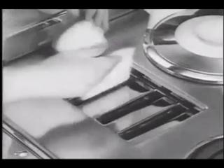 Представления кухни будущего. США 1960 г.