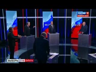 Жириновский к Собчак: