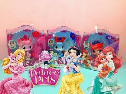Королевские питомцы Принцесс Диснея Русалочка Ариэль Белоснежка Аврора Спящая красавица