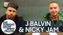 J Balvin and Nicky Jam Sing Like SpongeBob SquarePants During Truth or Challenge