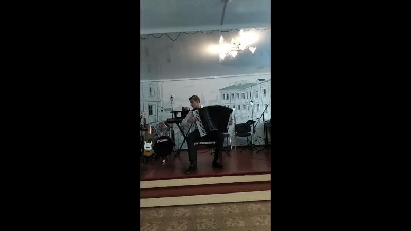 27.04.2018 Дмитрий Ноздрачев - Д.Шостакович Прелюдия и фуга D dur