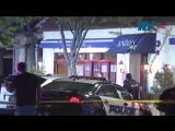 In the state of New York, the car rammed the facade of the restaurant in front of the mayor of the city