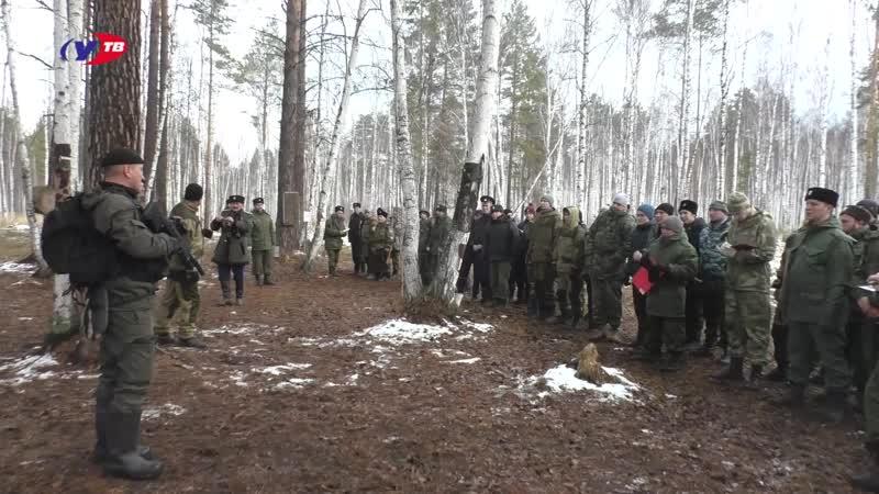 прошли военно-полевые сборы Казаков Горнозаводского юртового казачьего общества
