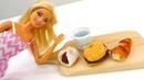 Кукла Барби и японская коробочка. Видео для детей.
