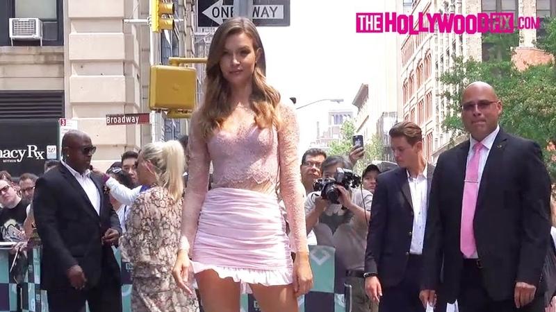 Josephine Skriver Drops Jaws At Build Series After Unveiling New Victorias Secret Lingerie Line