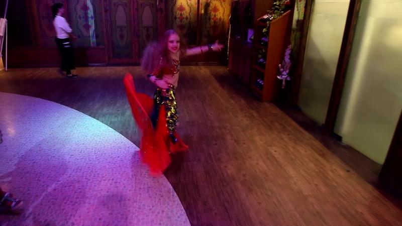 Виктория Глухова 8 лет табла соло. Отчетный концерт студии НИКА. 13.05.18