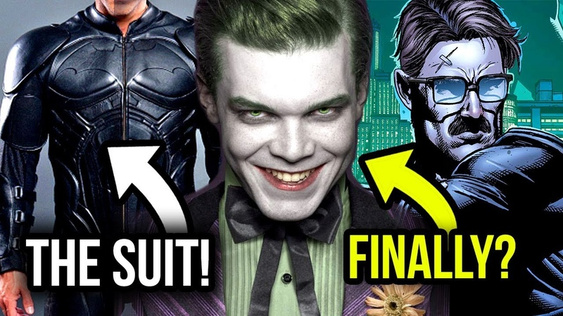 The ACTUAL JOKER (NOT Jeremiah!) is Coming to Gotham! Plus Bruce to Have Batman Begins Suit!