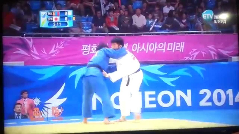 17th Asian Games INCHEON 2014 JUDO -66kg Gold medal