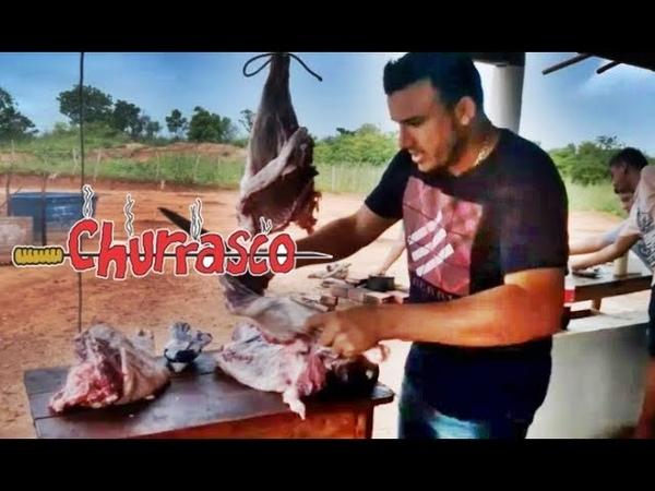 Derick Medina vkontra André Moraes e amigos em farra na fazenda