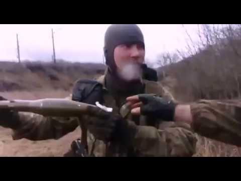 Уничтожение Российского блокпоста в зоне АТО (ООС) Правым Сектором УДА (ДУК)