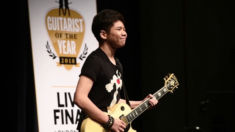 Young Guitarist of the Year 2018 finalist Alex Hooi