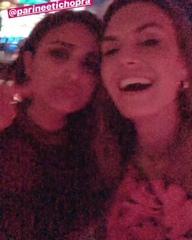 "PC globaldomination1 on Instagram: ""@parineetichopra & @elizabethchambers 💃🏻💃🏻 #PCsBachelorette . . . #PriyankaChopra #NickJonas #Quantico #Priyank..."