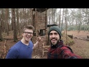 Bushcraft ft. ALEC STEELE - Fire Lighting, Steak, Axe work - Epic Day at The Camp!