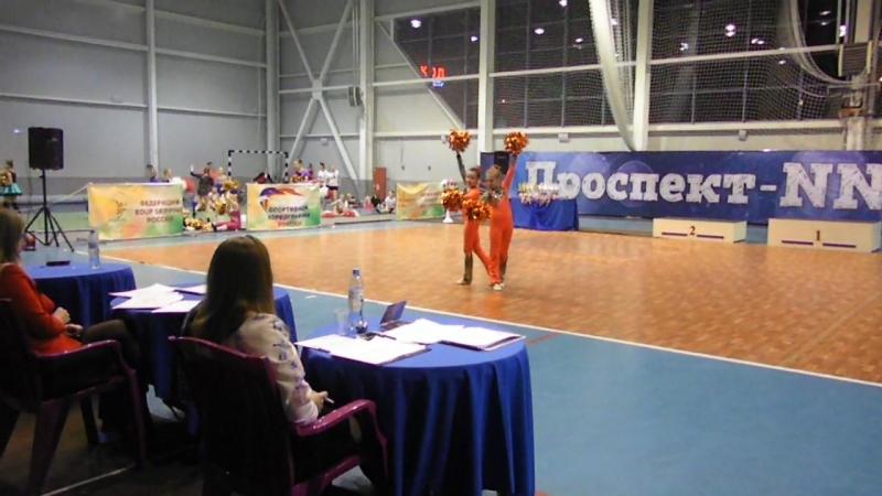 Кадетки дуэт Воронина Елизавета - Пономарева Татьяна