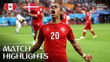 Перу - Дания 1 тур ЧМ 2018 футбол Peru v Denmark - 2018 FIFA World Cup Russia - Match 6