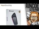 Rincoe Ceto Pod System Kit 370mAh. Под для взрослых. 🎷🎻🎹🎸