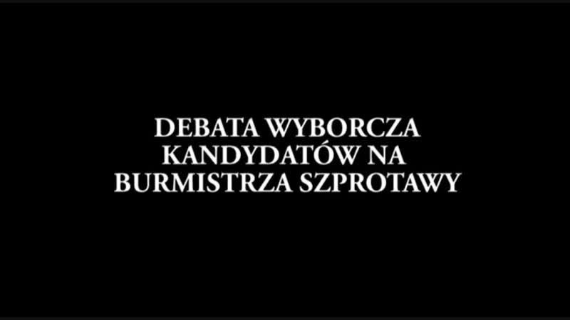 DEBATA KANDYDATÓW NA BURMISTRZA SZPROTAWY - Telewizja Region