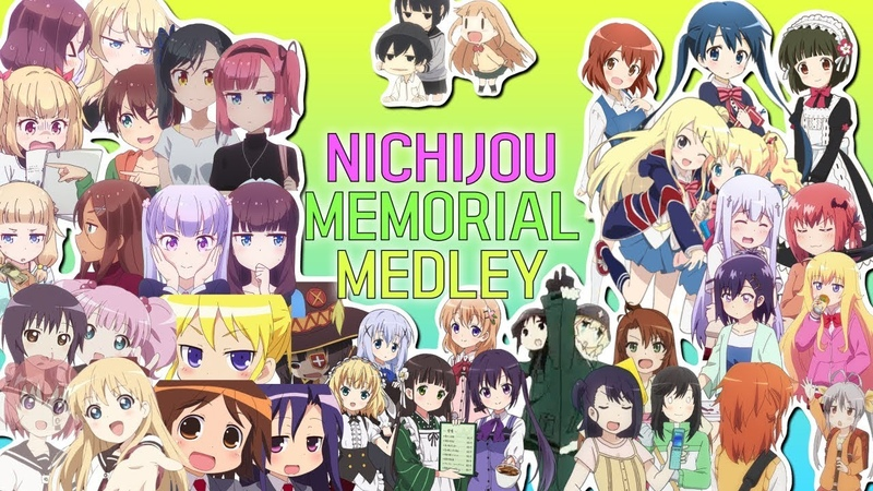 [Collaboration]Nichijou Memorial Medley日常物アニメメドレー合作