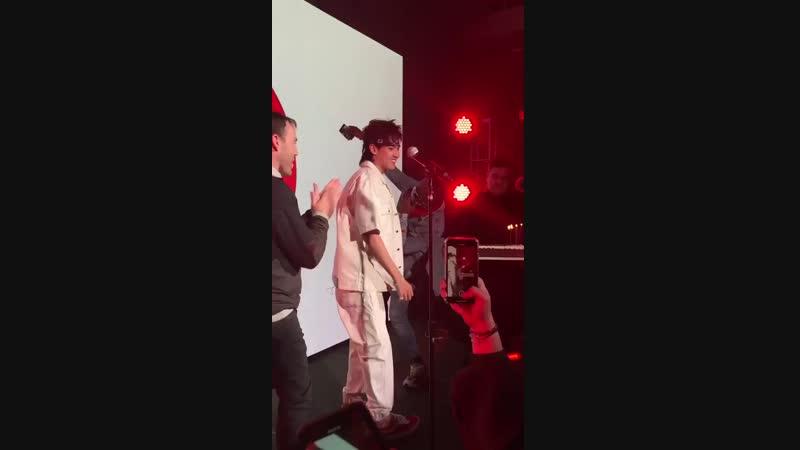 [FANCAM] 181107 'Antares' Release Party in NYC @ Wu Yi Fan