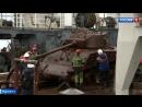 Американские танки, найденные в Баренцевом море, могут принять участие в Параде Победы