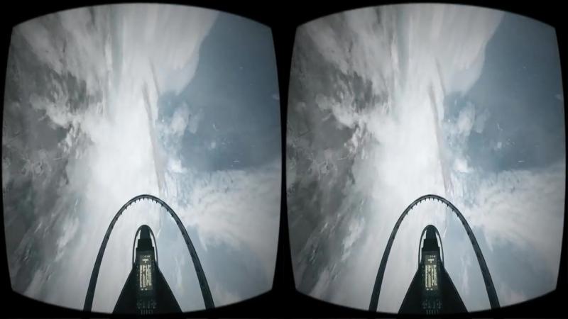 VR Videos 3D Epic Jet FLIGHT VR 3D SBS for VR Box 360 Google Cardboard Virtual Reality 3D