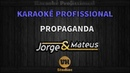Propaganda Jorge Mateus Karaokê Profissional Versão Vithor Hugo Studios