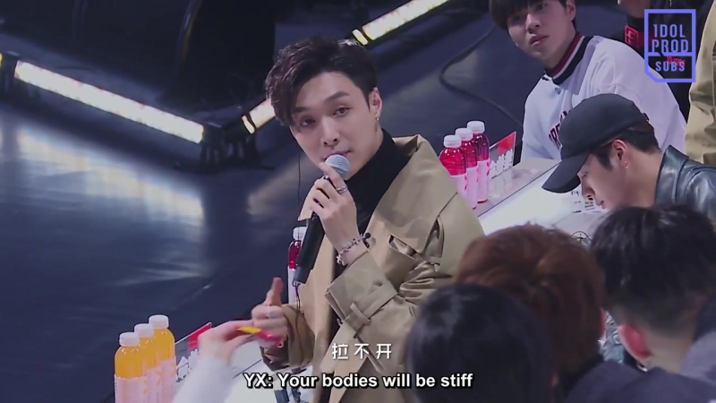 [VIDEO] 180112 Lay @ Idol Producer Preview   ENG SUB