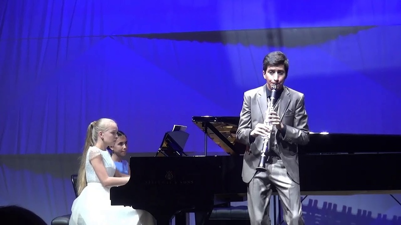 22.09.18 Eric Mirzoyan, Sofya Menshikova at Moscow concert hall Zaryadye, Smaller Performance Hall
