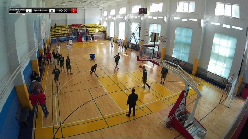 Баскетбол. Прямой эфир. Локомотив-Кубань-ЦОП Краснодар - Руна-Баскет Москва