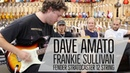 Dave Amato REO Speedwagon Frankie Sullivan Survivor On The Couch at Norman's Rare Guitars