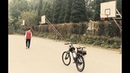 Двухколёсный беспилотник в Китае студенты собрали радиоуправляемый велосипед