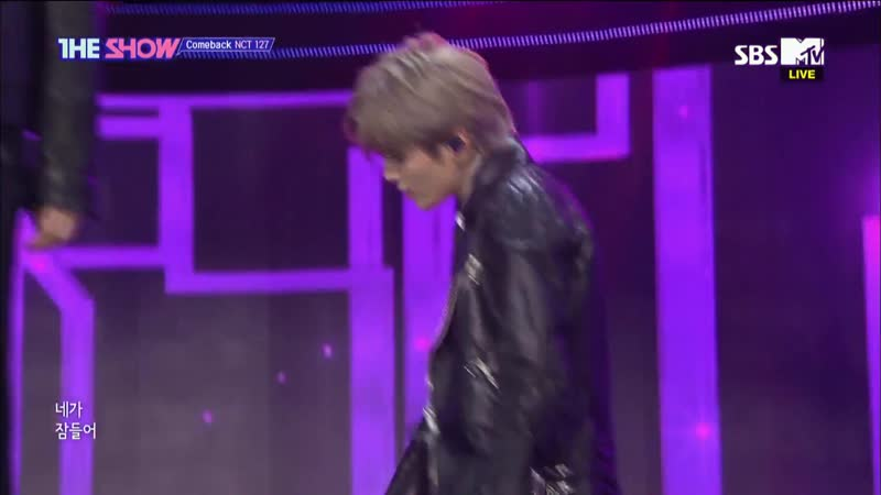 NCT 127 - Come Back @ The Show 181016