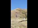 Актобе каласынын тарбиеси жане спорт болими тау 400 вертикальный забег 15 07 2018ж