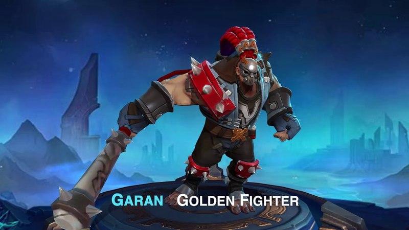 New Skin Garan Golden Fighter