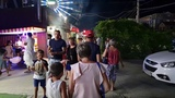 Проспект Южный- Парки Атракционов Ночное #ВИТЯЗЕВО 17.08.2018