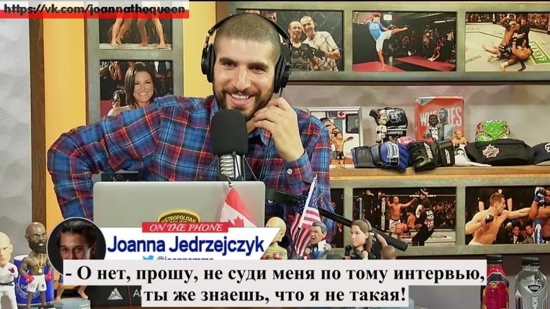 Joanna jedrzejczyk on helwani's show