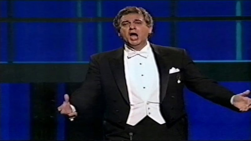 """Placido Domingo """"E lucevan le stele"""" """"You are my hearts delight"""" (Royal Birthday Gala Pt 28/30)HD"""