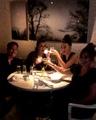 Hilary Duff on Instagram Shots shots shots..... jk jk mines a green juice lovely din with @starmandarren @suttonlenore and @debimazar @abckitche...