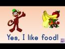 Do you like food Song for kids. Super English Kid! (Fruits, Vegetables, Meat, Dessert)
