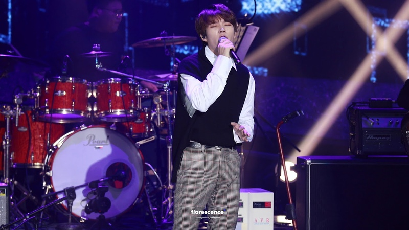 31 10 18 The Stage Big Pleasure Nam Woohyun If Only You Are Fine