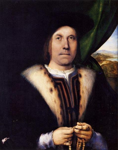 Лоренцо Лотто (1480 — 1556) — лучший портретист своего времени, абсолютно не зашоренный. А очень смахивает на авангард, яркий свет, сияющие цвета, чёткие контуры.