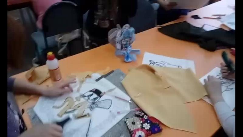 Готовим подарки Панно в технике кинусайга